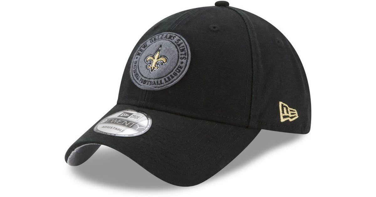 3661f03777d Lyst - Ktz The Varsity 9twenty Cap in Black for Men