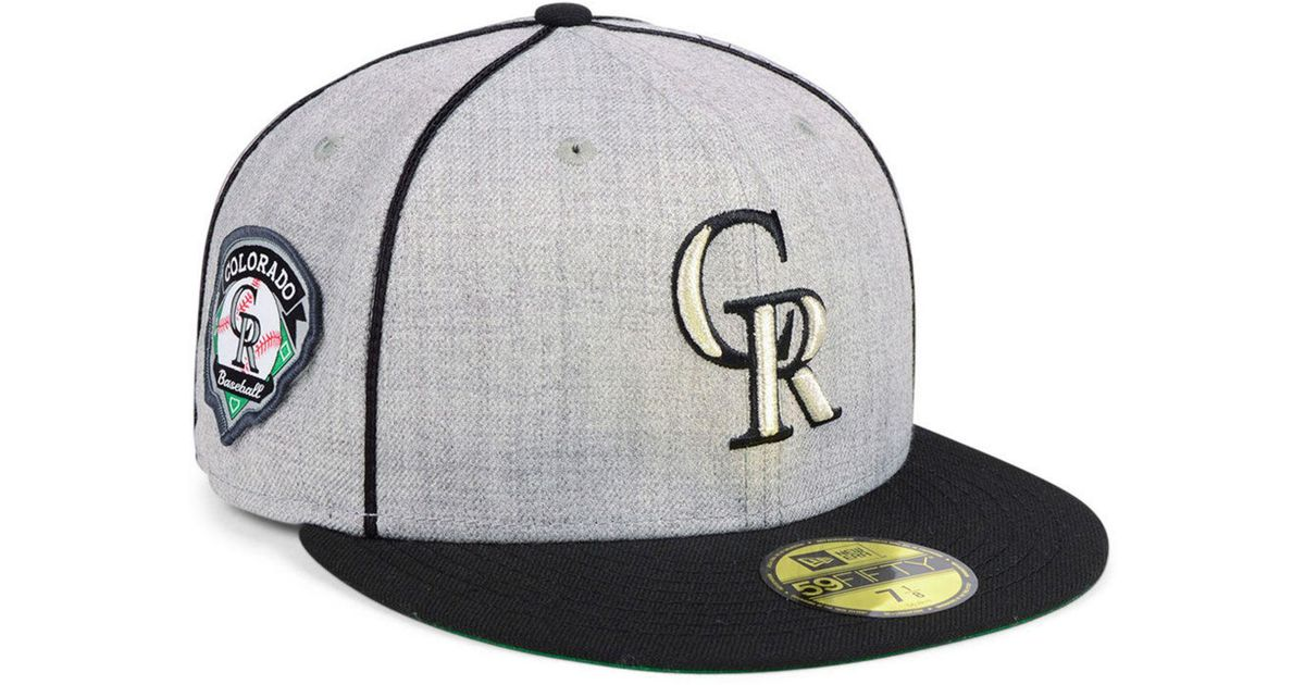 premium selection 75e8f 1cb0b Lyst - KTZ Colorado Rockies Stache 59fifty Fitted Cap for Men