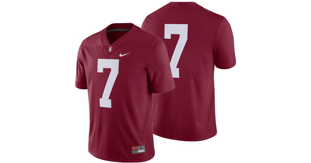 53cd32703d9a Lyst - Nike Stanford Cardinal Football Replica Game Jersey in Red for Men