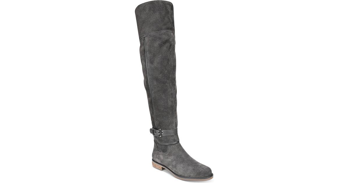 39569075fb7 Lyst - Franco Sarto Crimson Wide-calf Over-the-knee Boots