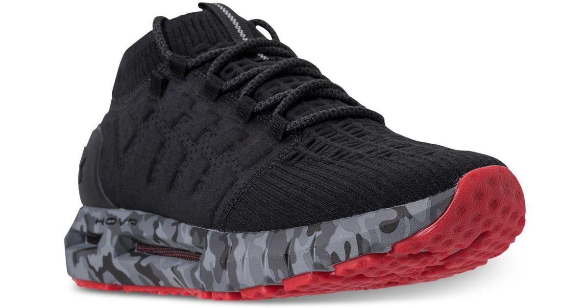 quality design 82b84 1e477 Under Armour Black Hovr Phantom Nm2 Running Sneakers From Finish Line for  men