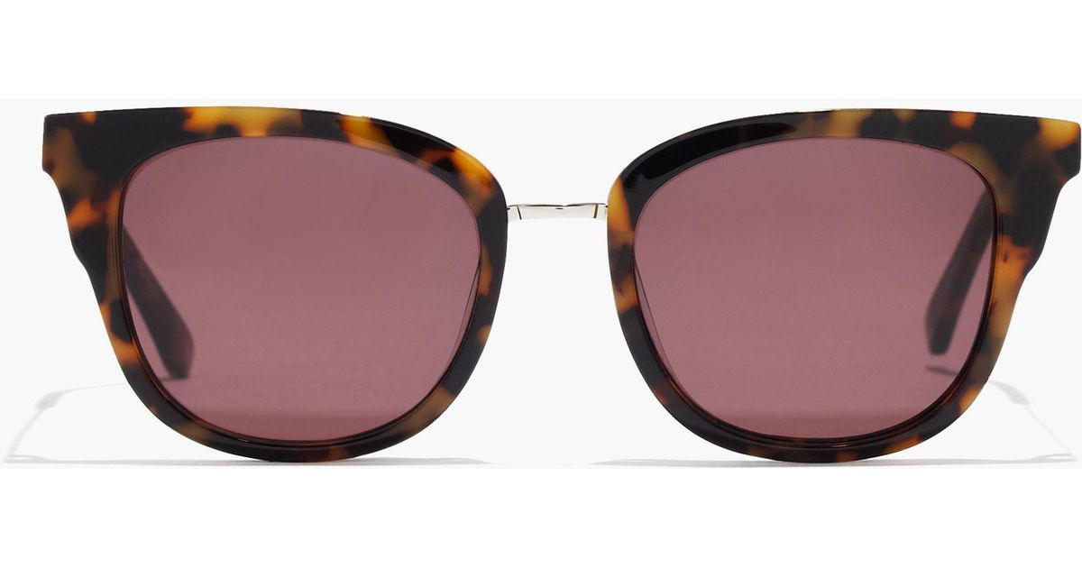 a007093e03 Lyst - Madewell Playlist Sunglasses in Red