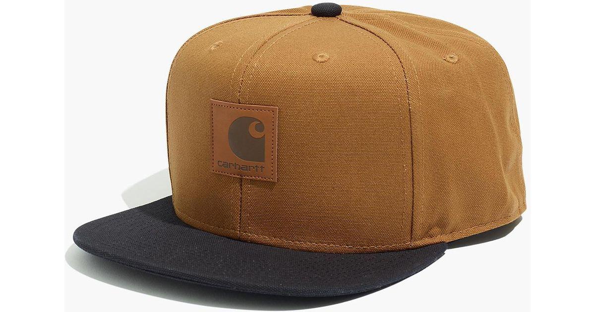8c996772 Madewell Carhartt® Work In Progress Logo Bi-colored Baseball Cap in Brown  for Men - Lyst