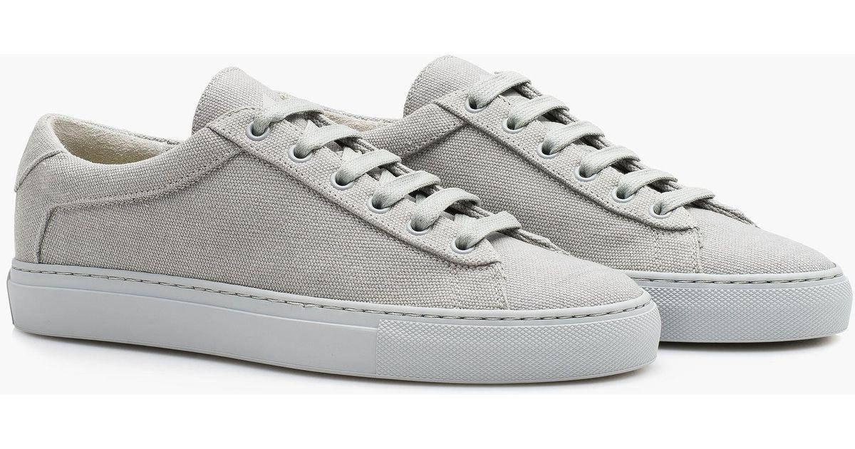 Koio Capri Perla Canvas sneakers PW8JkxhK