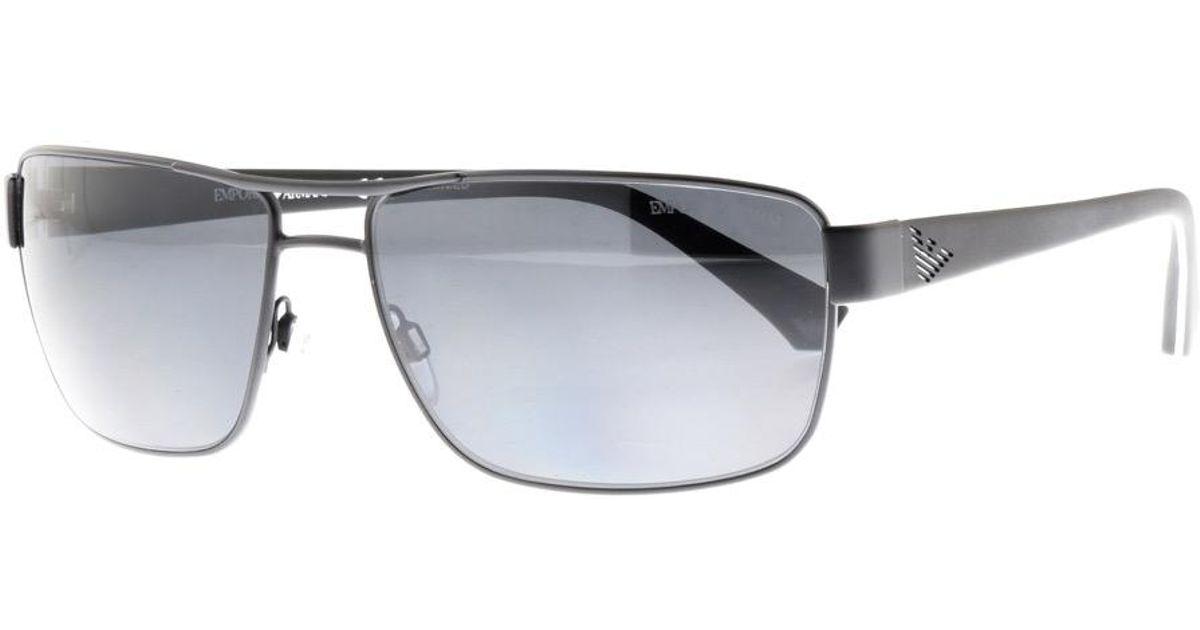 b9b7b77ad06a Lyst - Armani Emporio Ea2031 Sunglasses Black in Black for Men