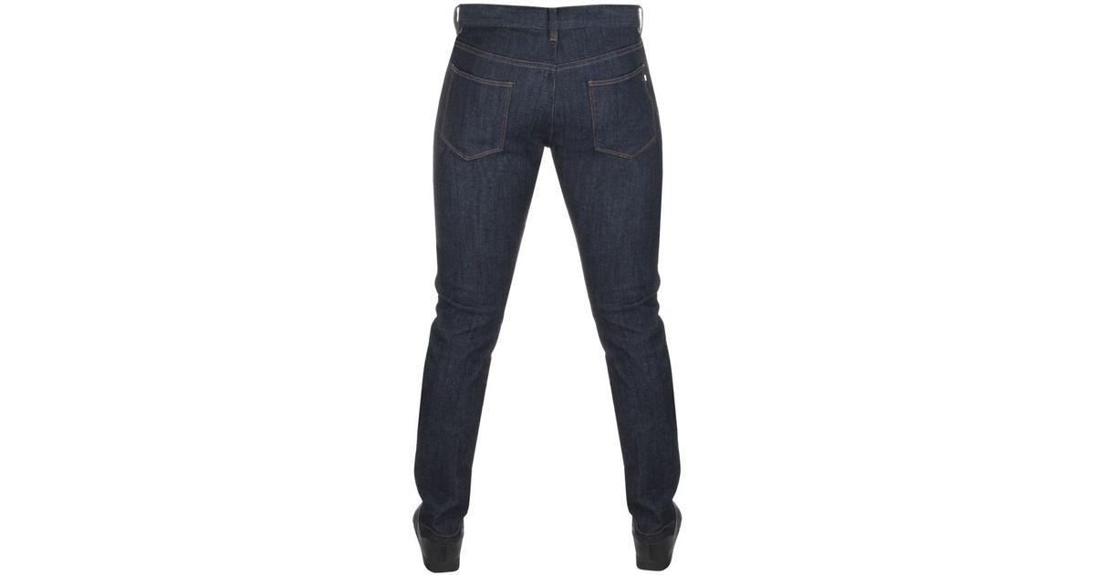 36927a52 Lacoste L!ive Slim Fit Jeans Blue for men