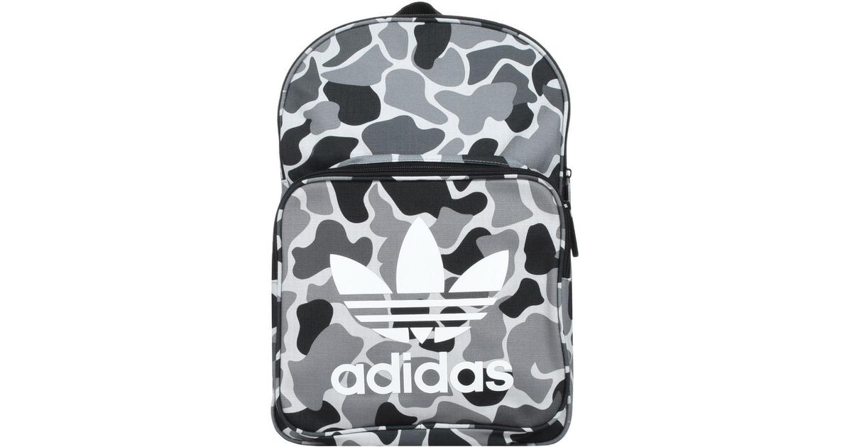 adidas Bp Classic Camo Men s Backpack In Grey in Gray for Men - Save 65% -  Lyst 97d1b9f7776c7