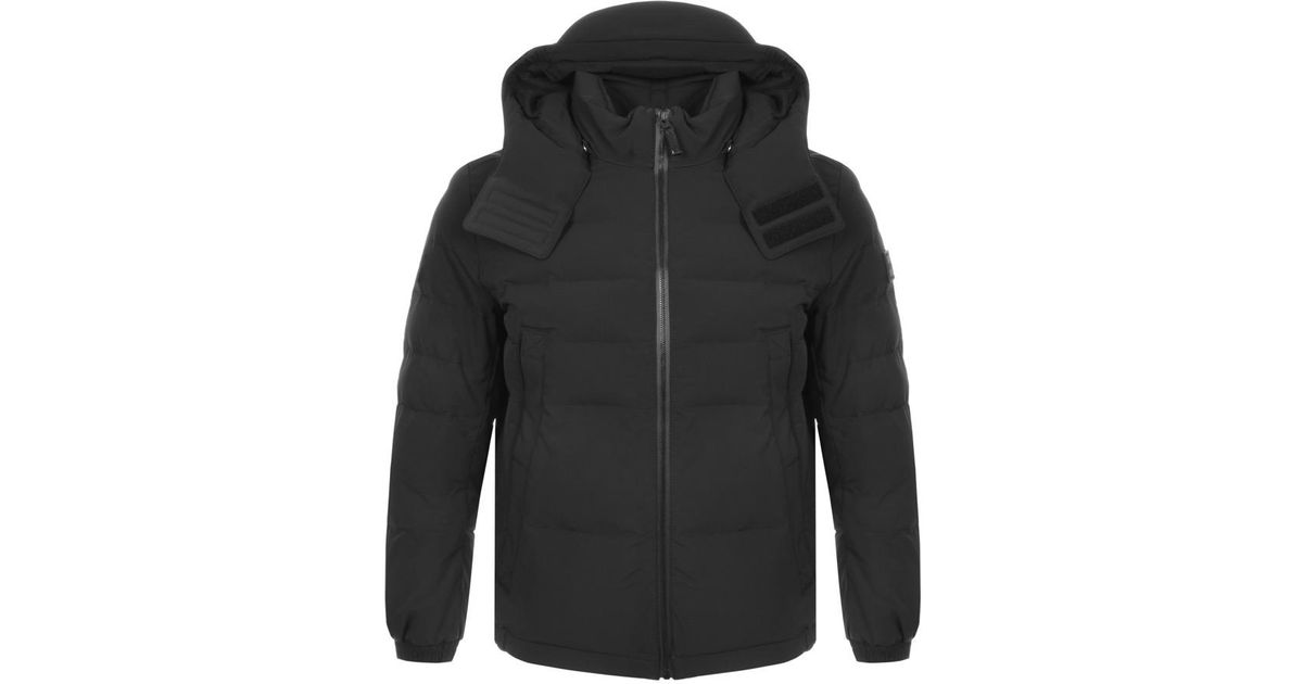 top-rated authentic cheap for discount another chance BOSS by Hugo Boss Orteel Puffa Jacket Black for men