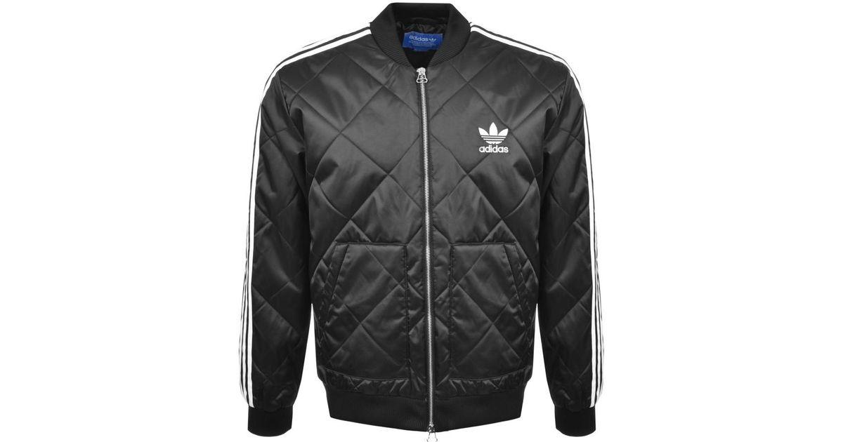 Adidas Originals Quilt.Adidas Originals Quilted Superstar Jacket Black For Men