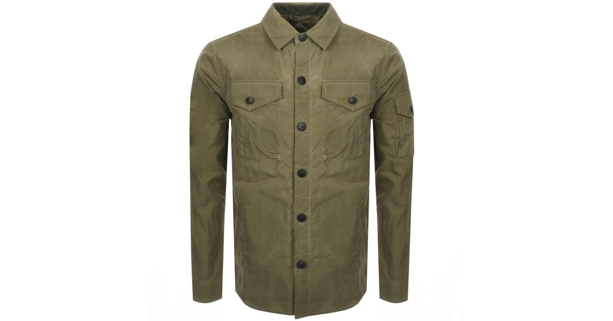 barbour dalby overshirt