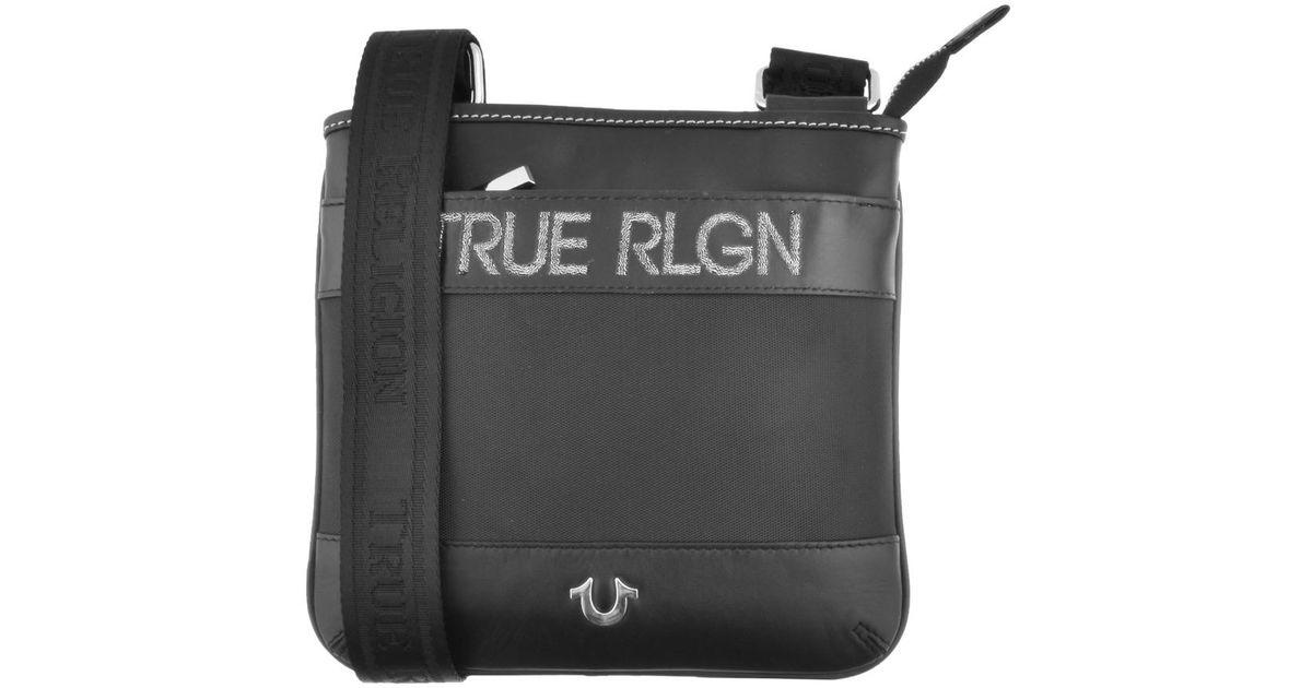4e4b2062ee True Religion Cross Body Bag Black in Black for Men - Lyst