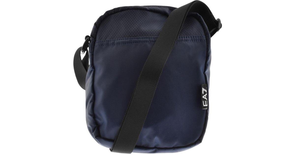 3a8791bf9e4f Lyst - Ea7 Train Prime Bag Blue in Blue for Men