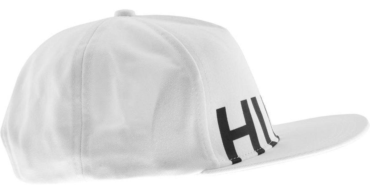 647ec4a6e26 Hugo Men X Cap White in White for Men - Lyst