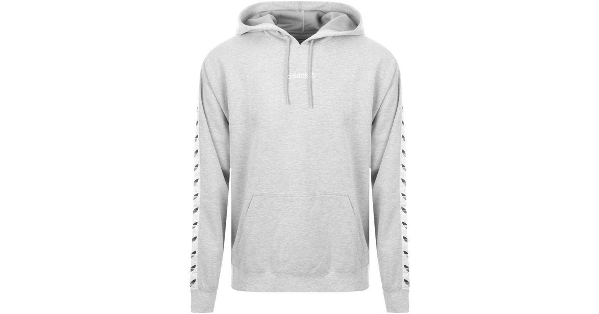 Adidas Gray Originals Tnt Tape Hoodie Grey for men