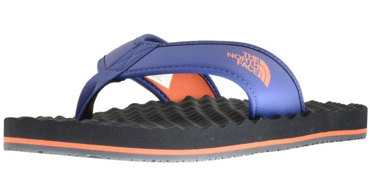 delicate colors low price sale speical offer The North Face Synthetic Base Camp Flip Flops Navy in Blue for Men ...
