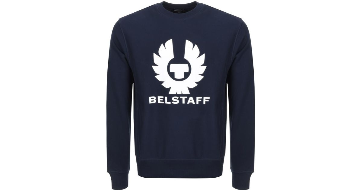 c90a049584b0 Lyst - Belstaff Holmswood Sweatshirt in Blue for Men - Save 51%