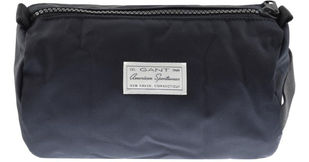 New York webbutik bra kvalitet GANT Synthetic Original Wash Bag Navy in Blue for Men - Lyst