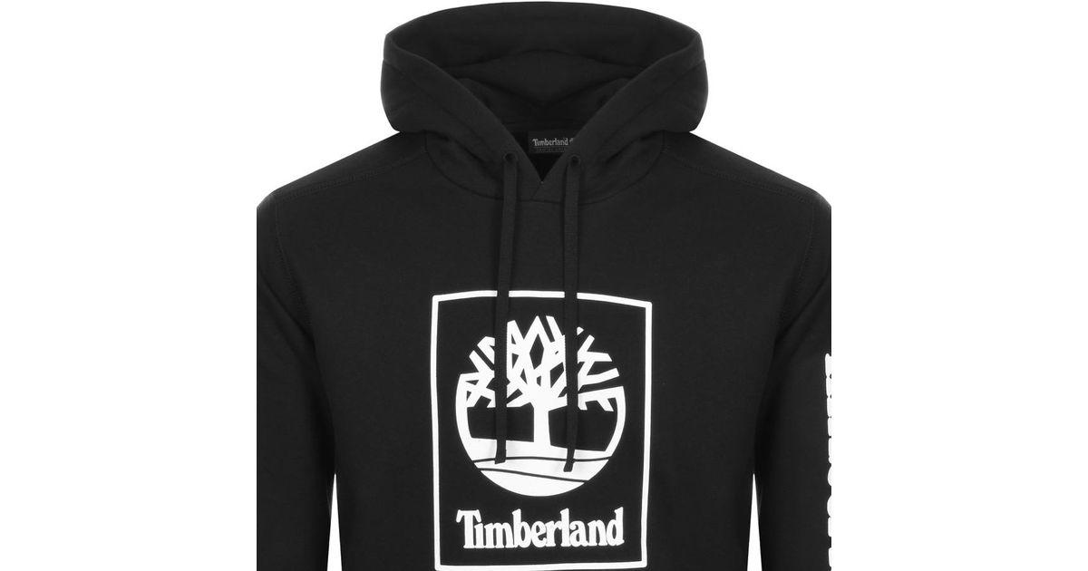 fabrycznie autentyczne Cena obniżona wyprzedaż ze zniżką Timberland Logo Hoodie Black for men
