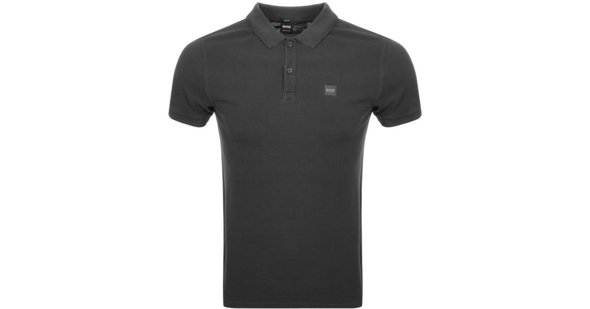 edafd534 Lyst - BOSS by Hugo Boss Prime Polo T Shirt Black in Black for Men - Save  51%
