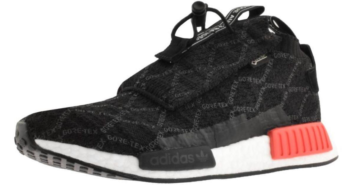 adidas NMD TS1 Prime Knit GTX Trainers Black | Mainline Menswear