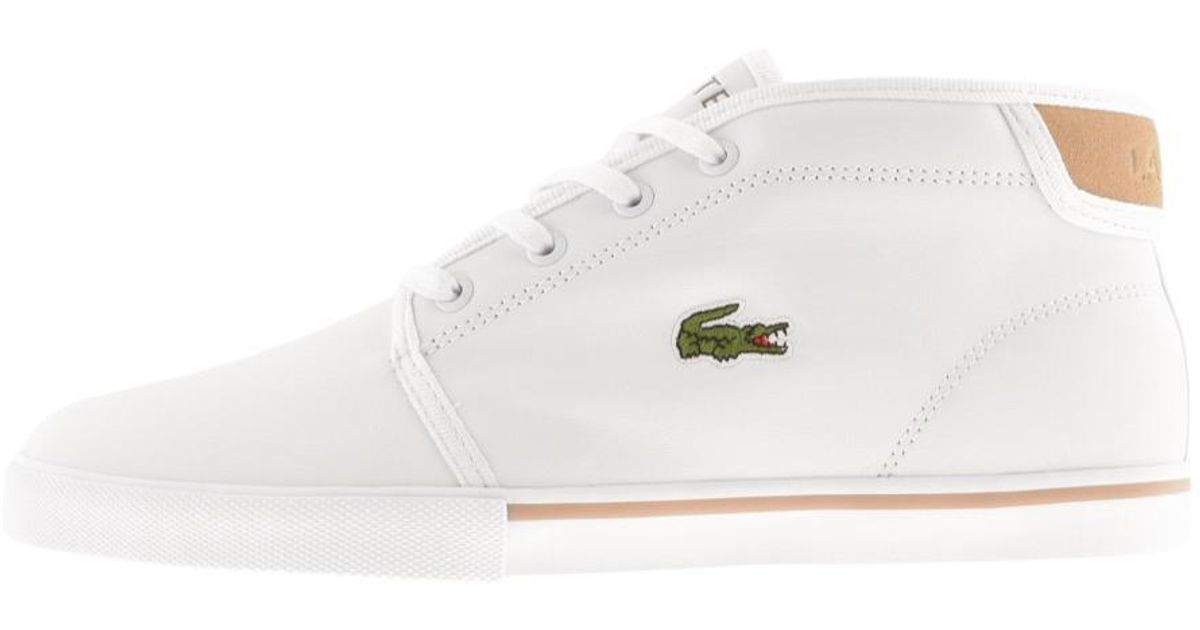Lacoste Lace Ampthill Mid Trainers in