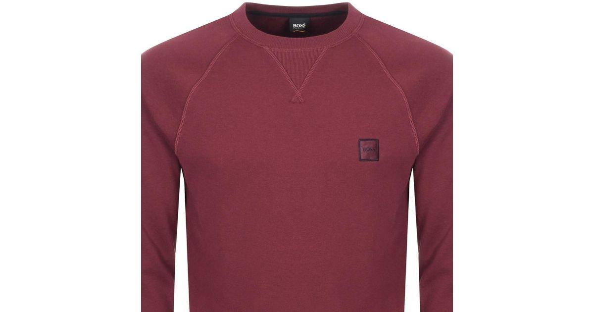 hugo boss wyan sweatshirt