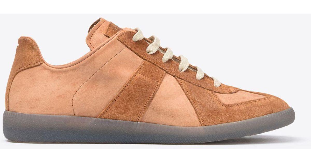 886aaa9af00 Maison Margiela Multicolor Calfskin 'replica' Sneaker