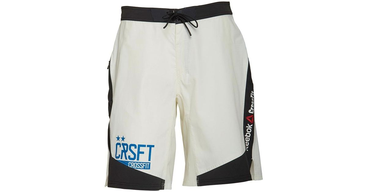 0a223b7368d Reebok Crossfit Cordura Playdry Dwr Super Nasty Tactical Shorts Chalk in  White for Men - Lyst