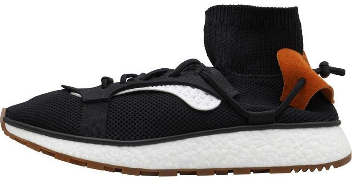 more photos 16610 eebf5 adidas Originals X Alexander Wang Run Hi Tops Core Blackcore Blackgum3 in  Black for Men - Lyst