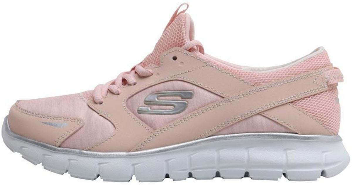 79355129d72f Skechers Vim Trainers Pink white in Pink - Lyst