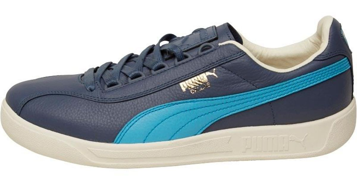 e11980477c0 PUMA Dallas Og Trainers Vintage Indigo Blue white in Blue for Men - Lyst