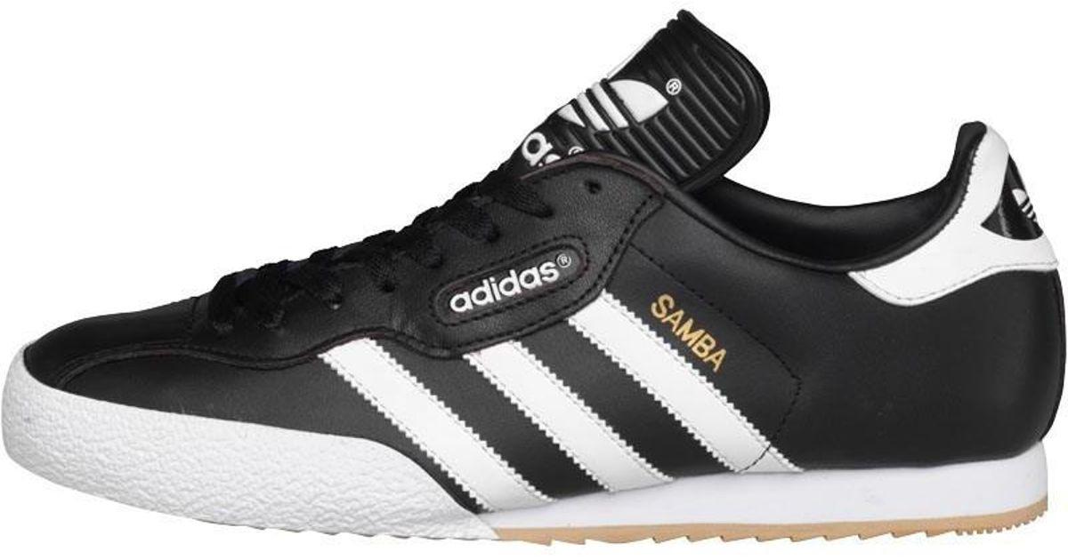121225f42 adidas Originals Samba Super in Black for Men - Save 37% - Lyst