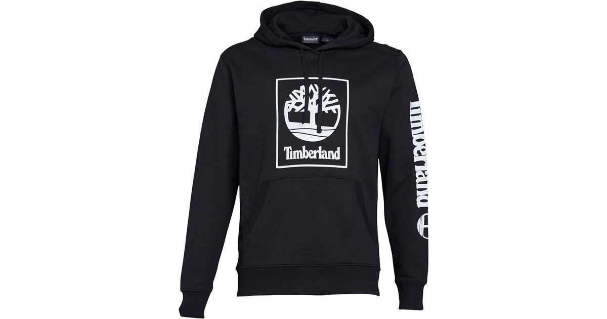 zegarek sklep specjalne wyprzedaże Timberland Sls Large Logo Hoodie Black for men