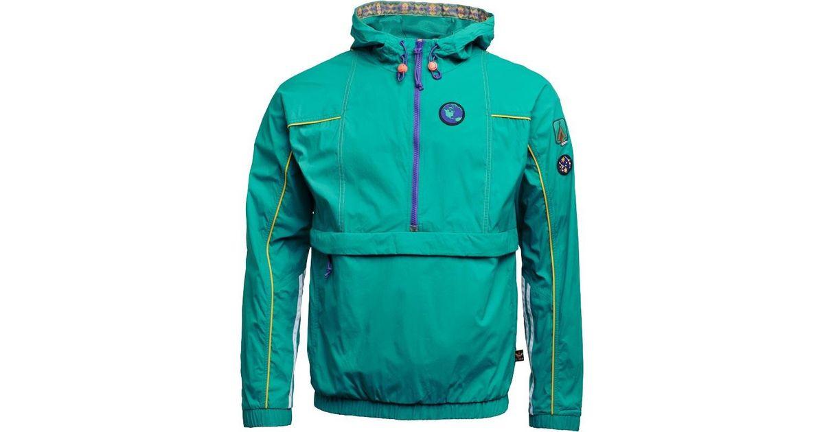 d8952ab540fda adidas Originals Pharrell Williams Hu Hiking Packable Windbreaker Eqt Green  in Green for Men - Lyst