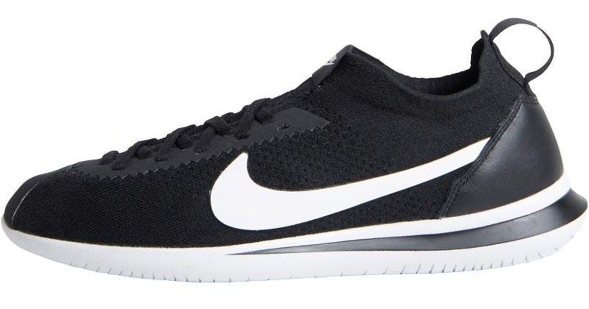 new arrival d4a5a eadce Nike Cortez Flyknit Trainers Black/white for men
