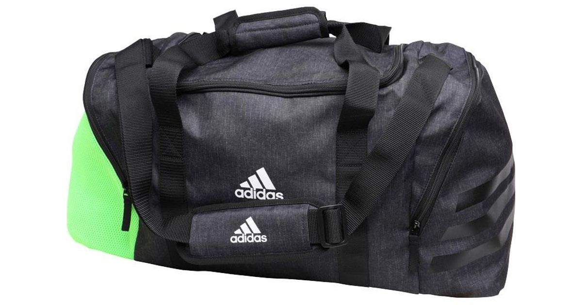 adidas Synthetic Ace 17.2 Team Bag Black/slime Green/white ...