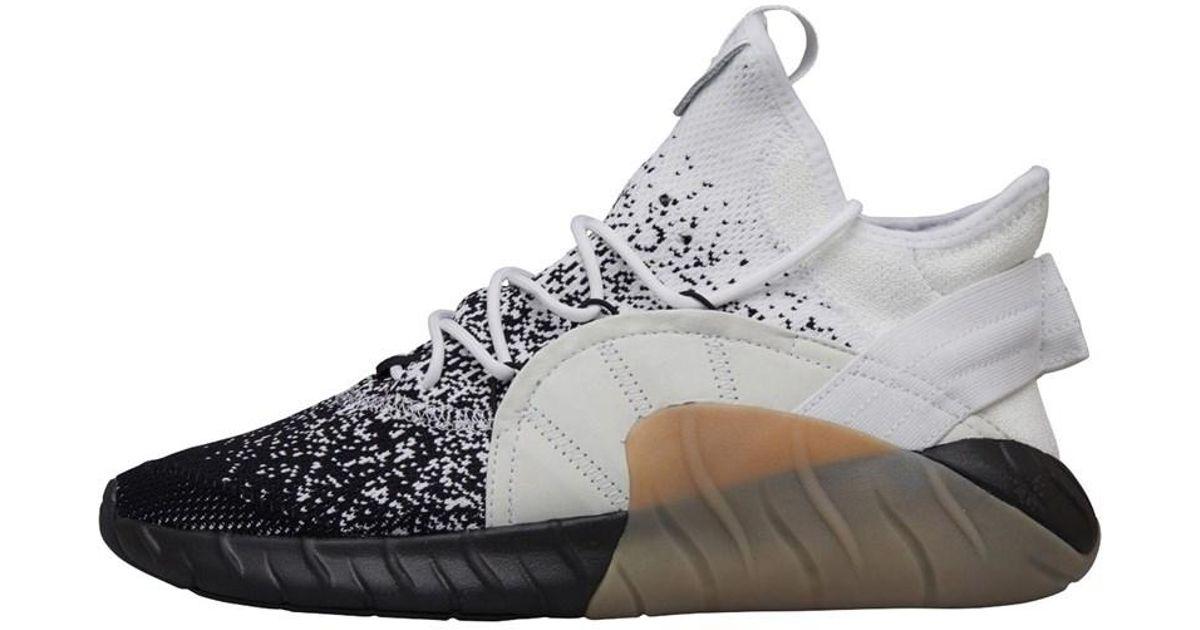 timeless design cbf74 23d82 Adidas Originals Tubular Rise Primeknit Trainers Footwear White/core  Black/light Grey Solid Grey for men