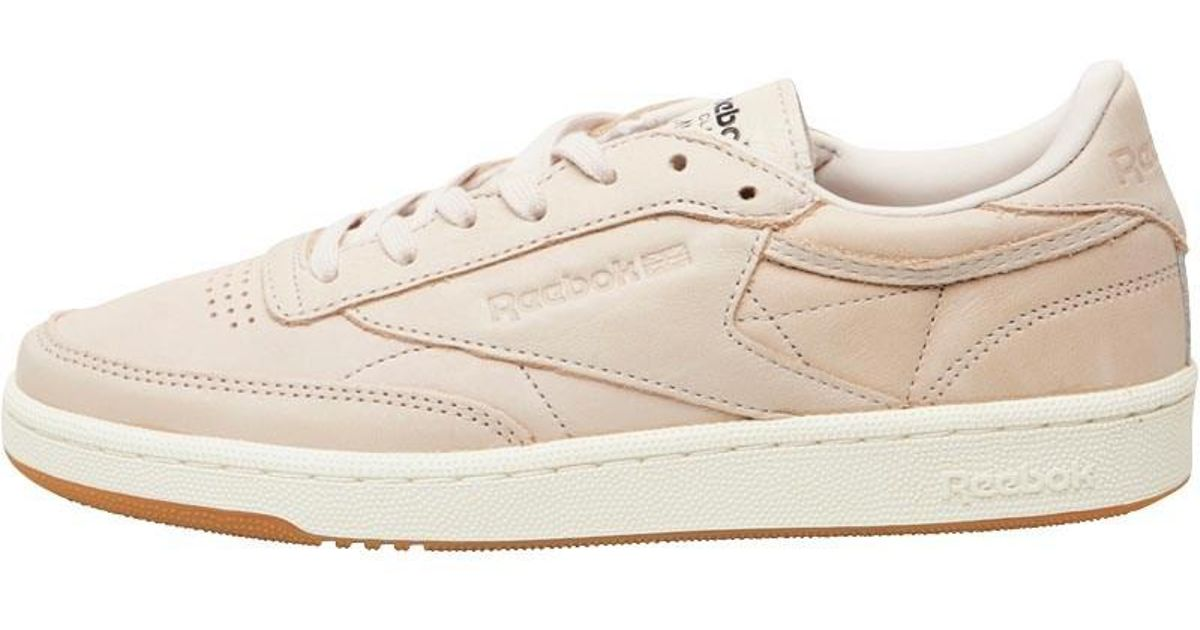5488e391f7e Reebok Club C 85 Golden Neutrals Trainers Veg Tan-rose Gold moon White chalk  in Natural - Lyst