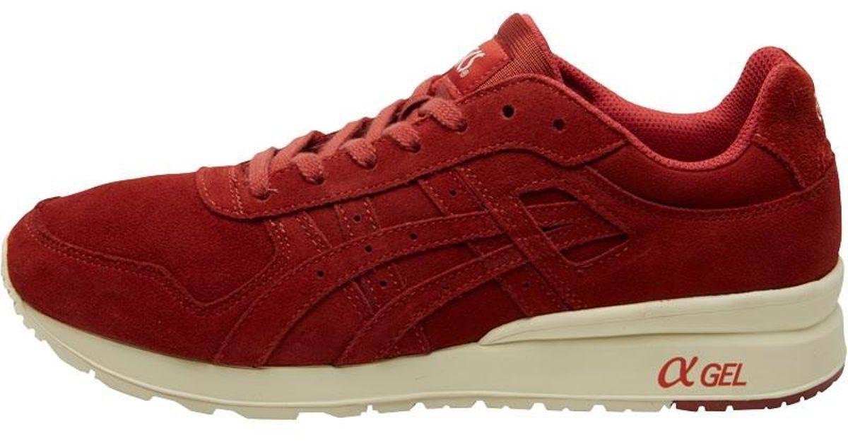 quality design 0e9e2 50c9c Asics Red Gt Ii Mono Suede Pack Trainers Tandoori Spice/tandoori Spice for  men