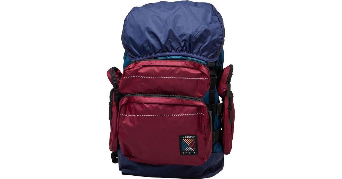 Adidas Originals Blue Atric Backpack Large Noble Indigo