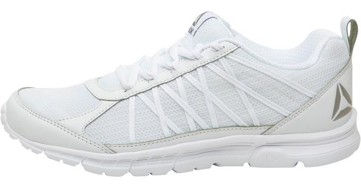 Reebok Speedlux 2.0 Neutral Running Shoes White white pewter in White - Lyst f8f81f423