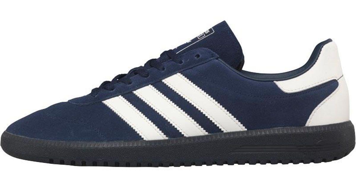 online retailer 8c5c5 11646 adidas Originals Intack Spzl Trainers Night Indigochalk Whitesuper Coal  in Blue for Men - Lyst