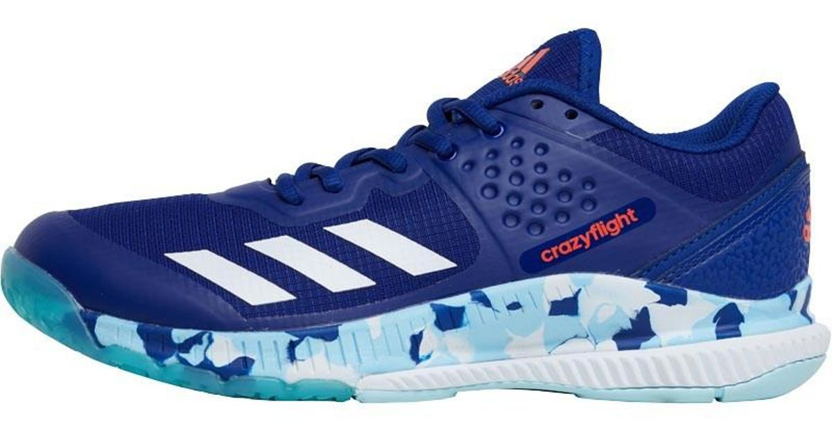 quality design 94933 a0e41 adidas Crazyflight Bounce Trainers Mystery Ink footwear White icey Blue in  Blue - Lyst