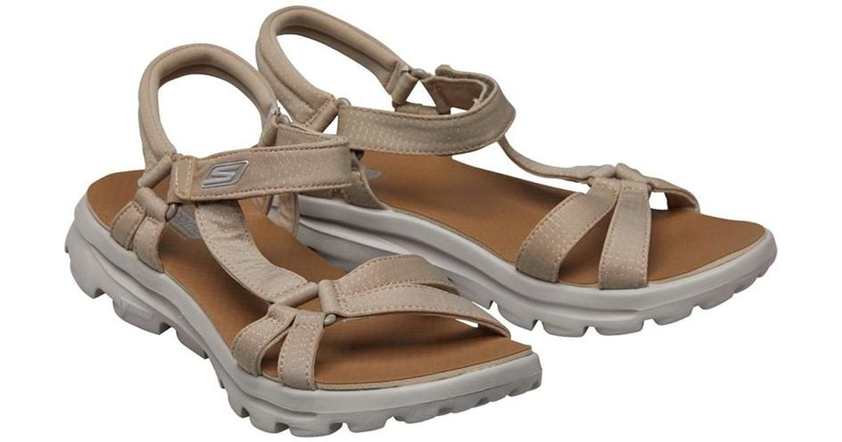 skechers go walk sandals