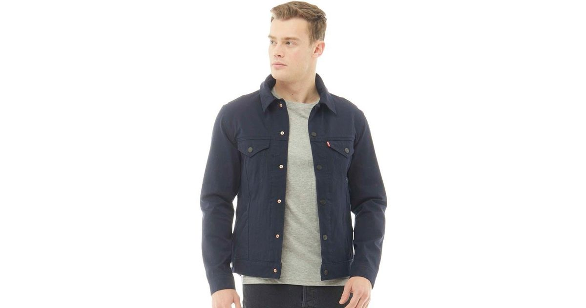 98b532c6 Levi's Commuter Pro Trucker Jacket Ii Nightwatch Blue Softshell in Blue for  Men - Lyst