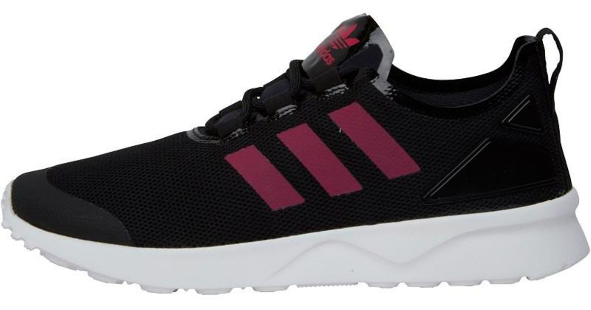 save off 1ec37 092da Adidas Originals Zx Flux Adv Verve Trainers Core Black/bold Pink/white for  men