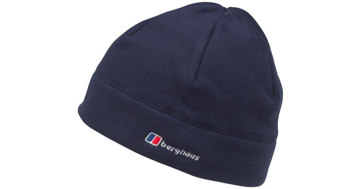 1c1eb656cf2 Berghaus Spectrum Fleece Beanie Hat Dark Blue in Blue for Men - Lyst