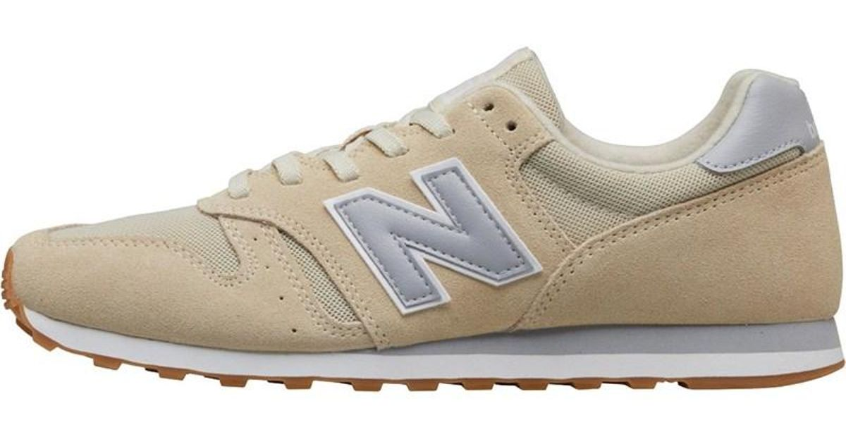 release date 61e9f ef3c9 New Balance Multicolor 373 Trainers Bone/white/silver for men