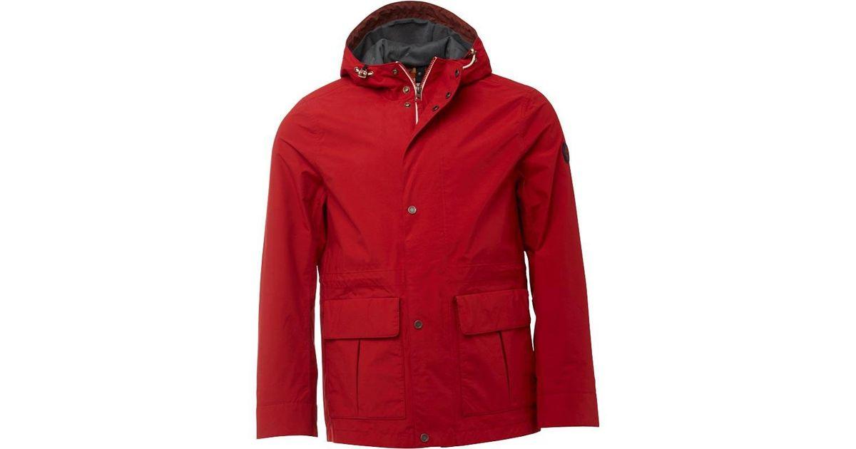 Timberland Bomber Mount Men For Chili Clay Wharf Pepper Red Jacket T1lJ3uFKc