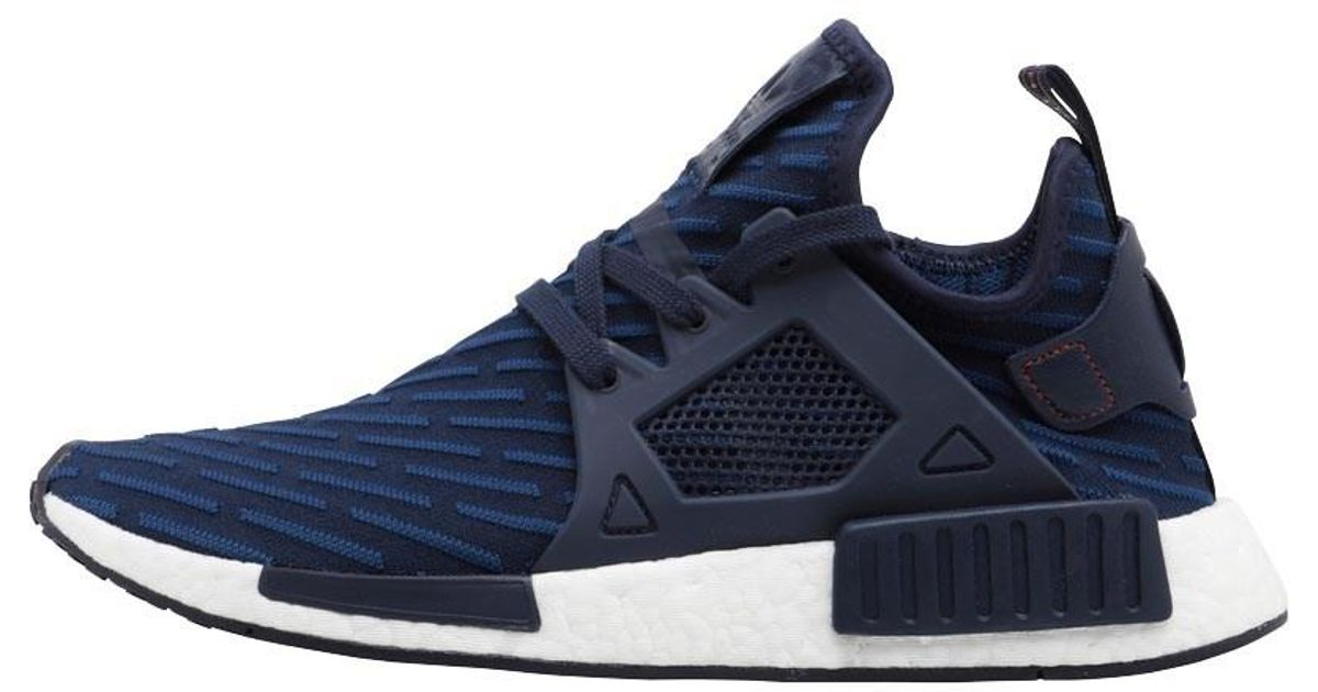 sale retailer 4ceee 0686e Adidas Originals Blue Nmd_xr1 Primeknit Trainers Navy/navy/core Red for men